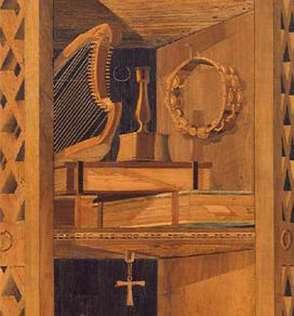 Instruments de musiques au Musée du bois de Revel