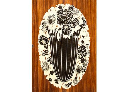 Oeuvre en bois au Musée du bois de Revel