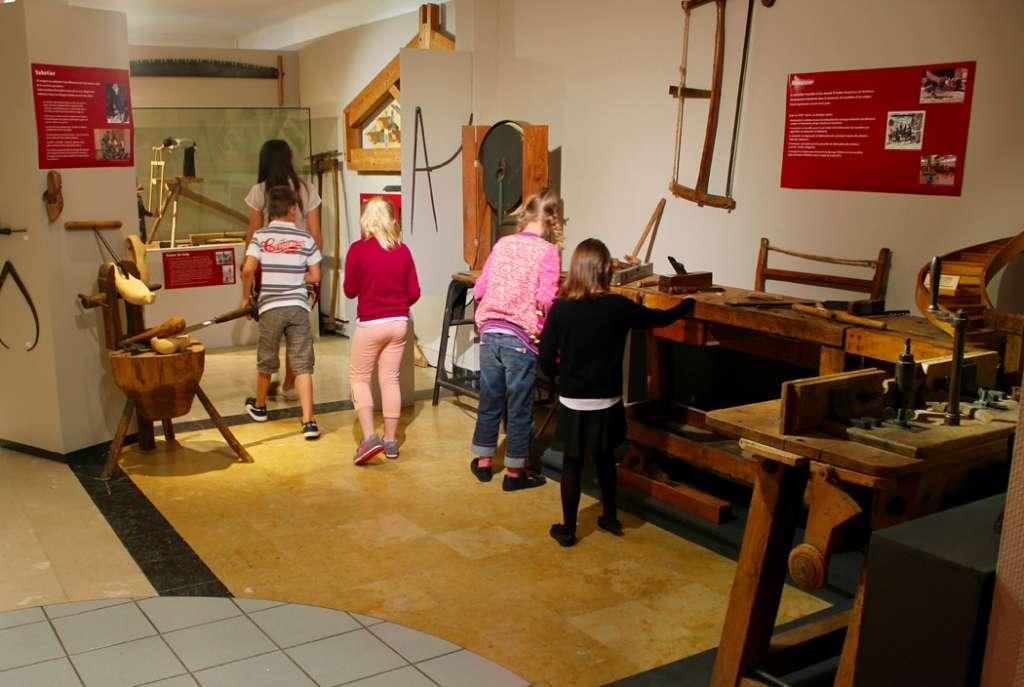 Visites d'enfants au Musée du bois de Revel